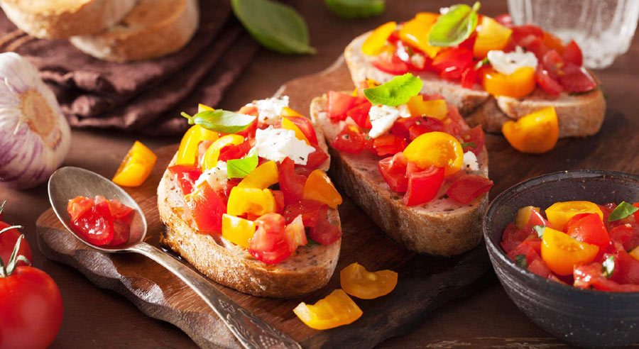 Mix bruschetta